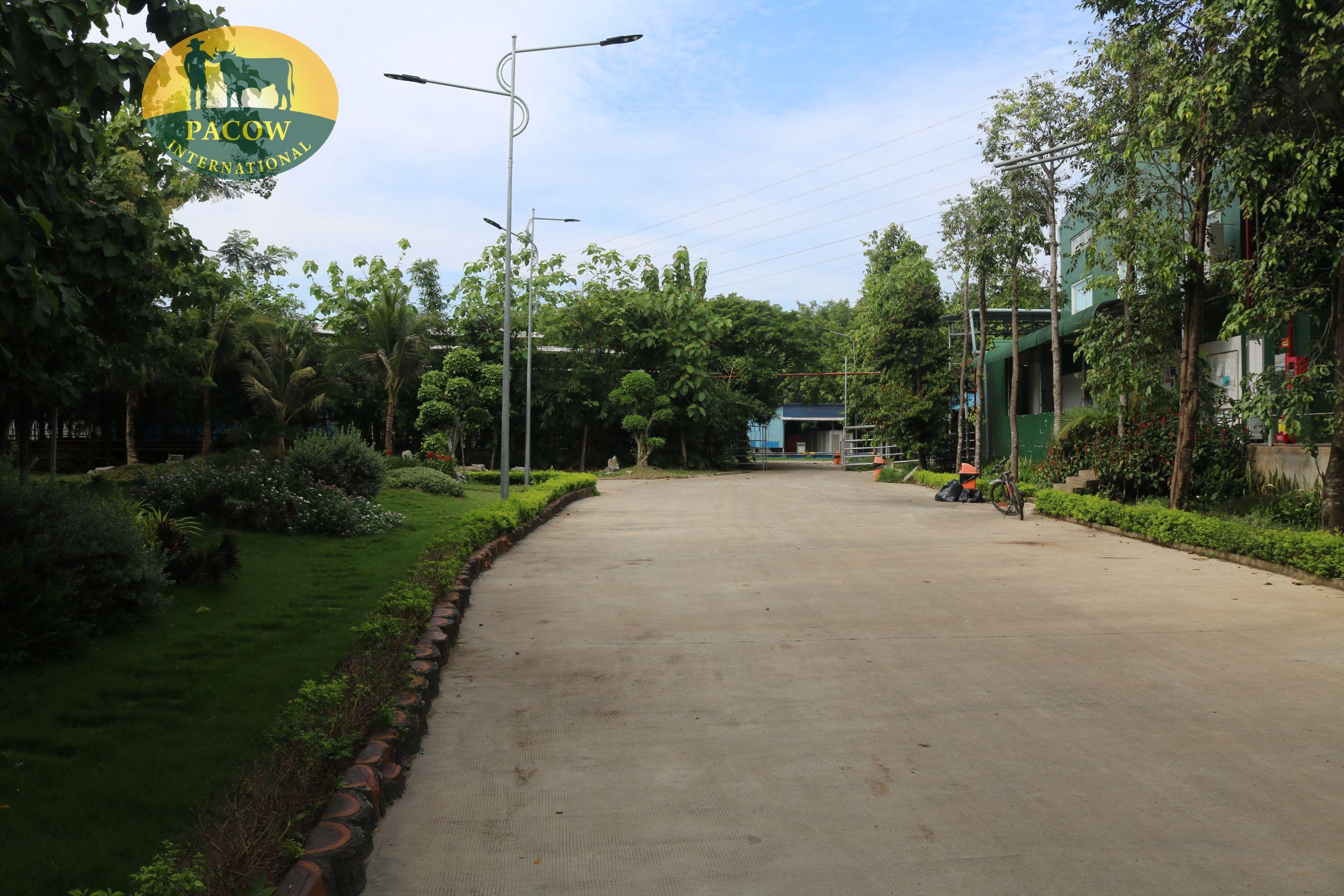 Lối ra chuồng trại
